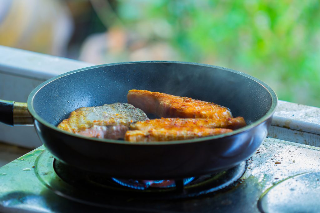 Learn how to pan fry fish or shrimp easily.