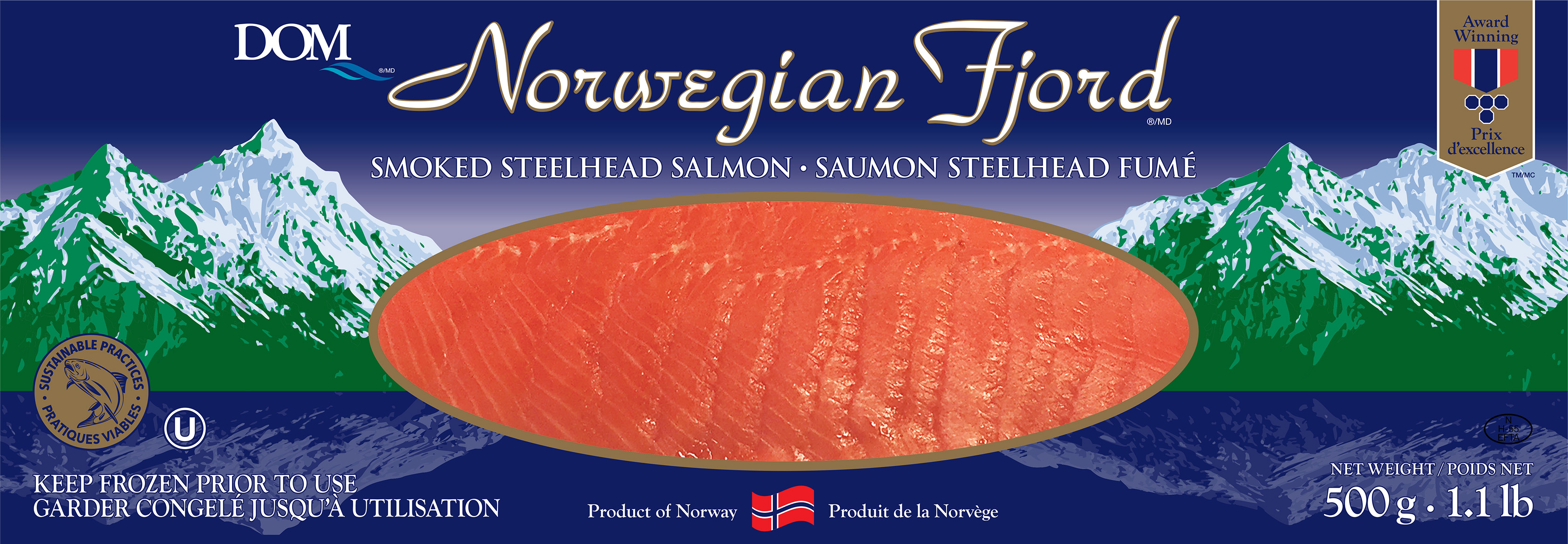 Norwegian Fjord Product | DOM International
