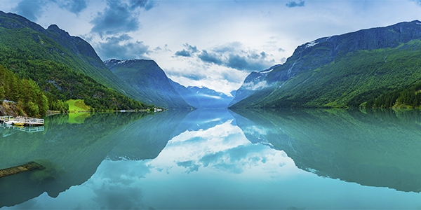 DOM International. Our Story. Beautiful Nature Norway natural landscape. Lovatnet Lake, Norway. Discover DOM International's story.